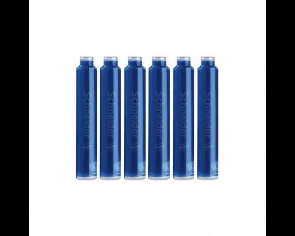 Картриджи для перьевой ручки Schneider синие 6шт.