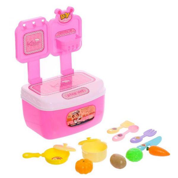 Игровой набор «Кухня», в чемодане