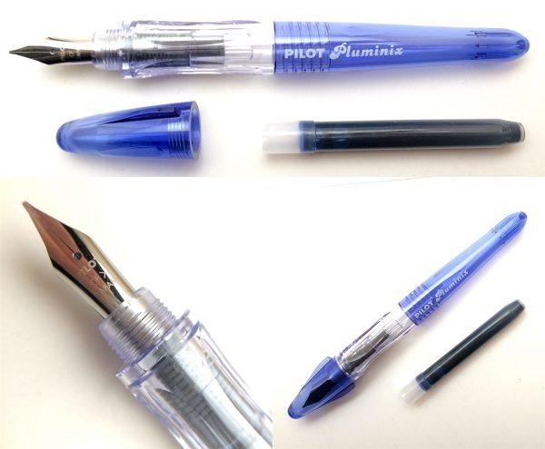 Ручка перьевая Pilot Plumix Mini Medium цвет МИКС