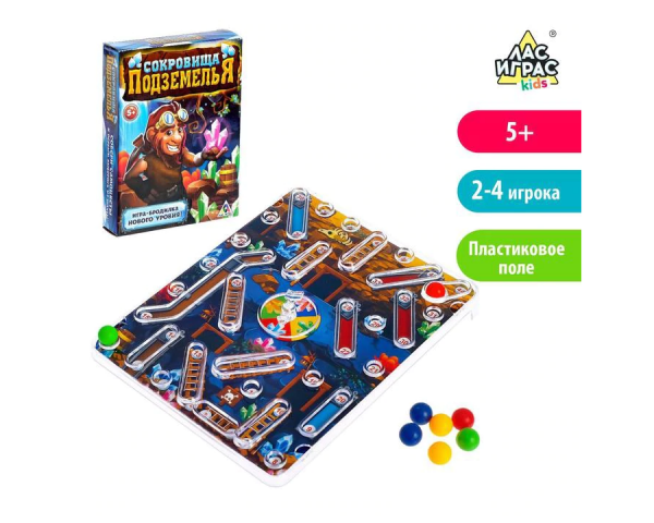 Игра-бродилка «Сокровища подземелья»