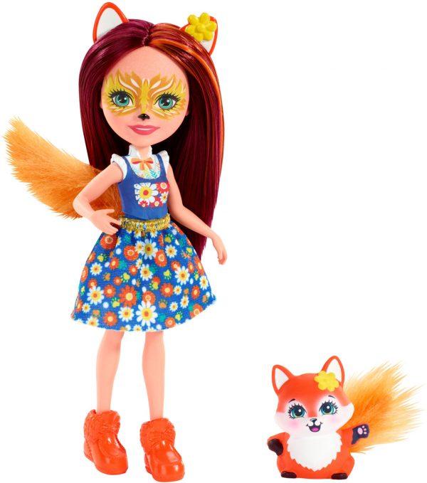 Кукла «Филисити Лис с питомцем Флик», Энчантималс