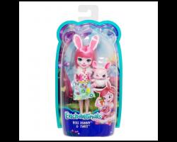 Кукла «Кролик Бри с питомцем Твист», Энчантималс