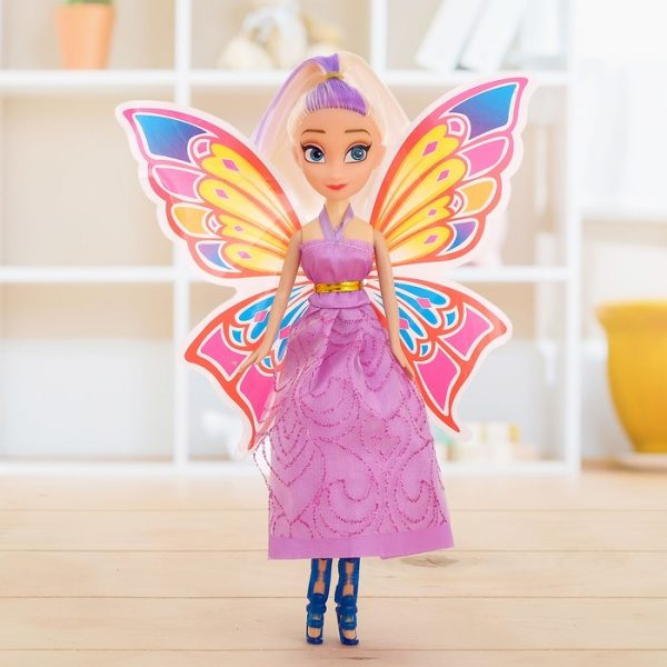 Кукла «Сказочница» с крыльями