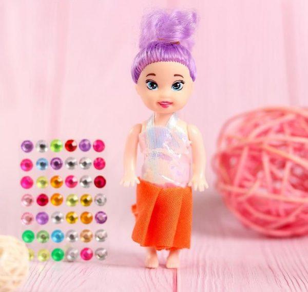 Куколка-сюрприз Surprise doll со стразами