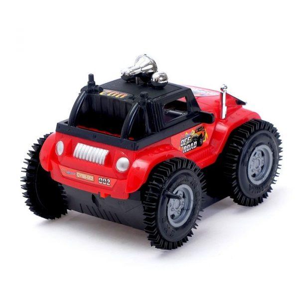 Машина-перевертыш радиоуправляемая «Джип», работает от батареек