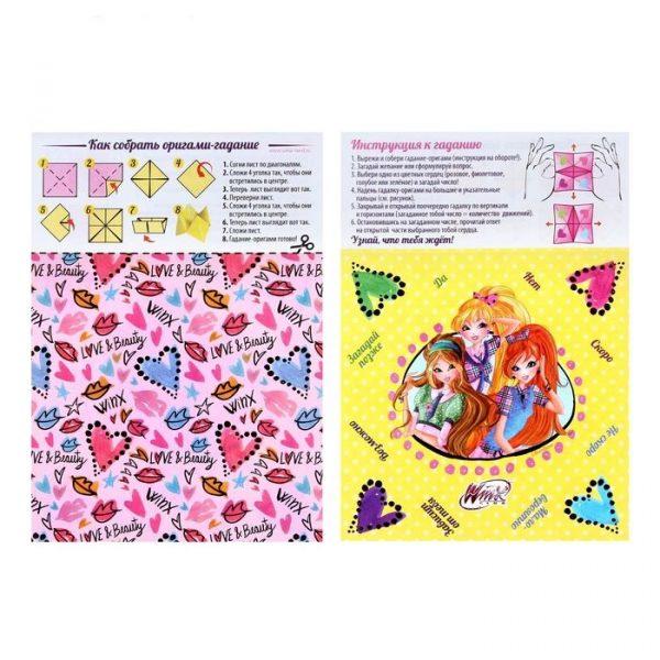 Мозаика гелевыми стразами «Милые волшебницы», феи ВИНКС + карточка для гадания