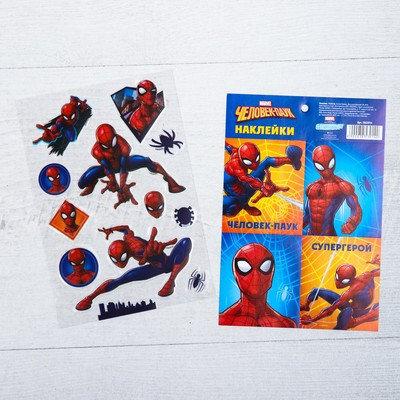 Набор для творчества «Супергерой», 4 предмета, Человек-Паук