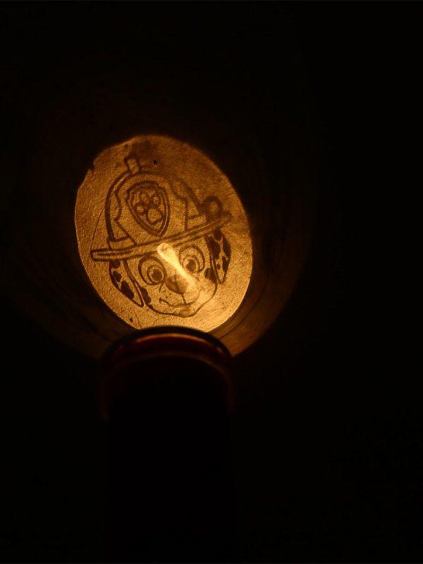 Проектор-фонарик 2 в 1 «Щенячий патруль», 6 слайдов