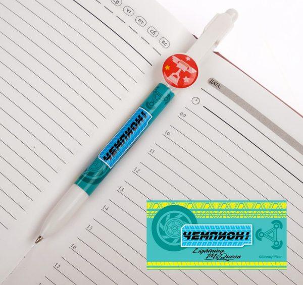 Ручка подарочная в конверте «Чемпион», Тачки