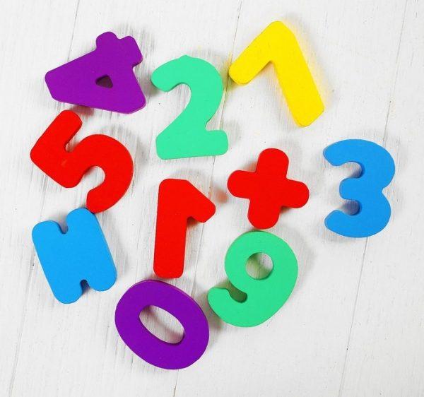 Сортер бизикуб деревянный «Цифры» (10 деталей)