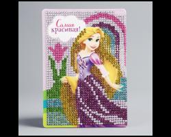 Алмазная мозаика для детей «Самая красивая», Принцессы: Рапунцель
