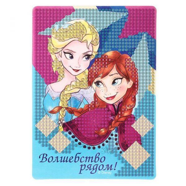 Алмазная мозаика для детей «Волшебство рядом», Холодное сердце