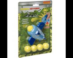Игровой набор «Военный», самолёт с 5 мягкими пулями