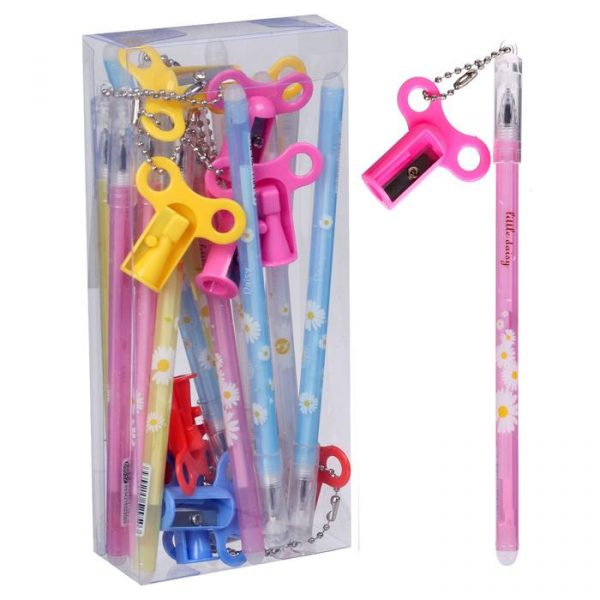 Ручка гелевая «Ключик-точилка»