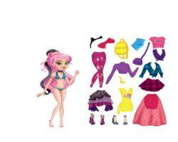 Магнитная игра «Одень куклу: стильная штучка»
